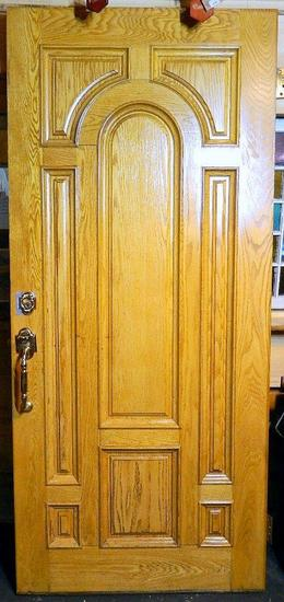 Solid Wood Entry Door