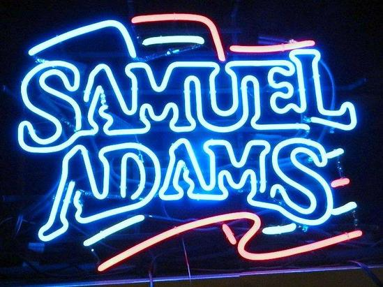 Samuel Adams Neon Bar Light