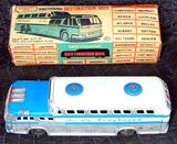 Greyhound Destination Bus With Rare Original Box