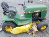 Grouping of JD Lawn Tractor, Power Generators, Pressure Washer, Wheeled Blower or Vac,and Snowblower