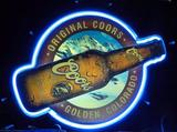 Original Coors Neon and Plastic Beer Sign Light