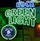 Rolling Rock Green Light Reer Neon Light Sign