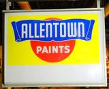 Allentown Paints Lighted Store Display Sign