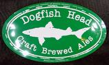 Two Metal Beer Signs, Dogfish Head and Keystone Light