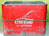 Vintage Drink Coca-Cola Bottles Cooler