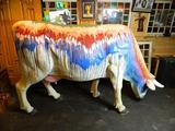 Full Size Fiberglass Painted Cow