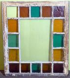 Three Antique Stained Glass Windows