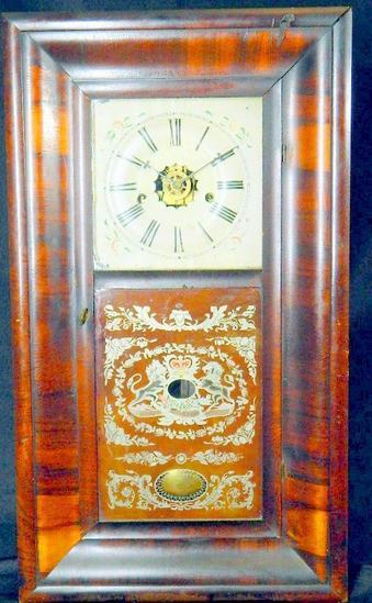 Antique Mantel Clock by E. N. Welch