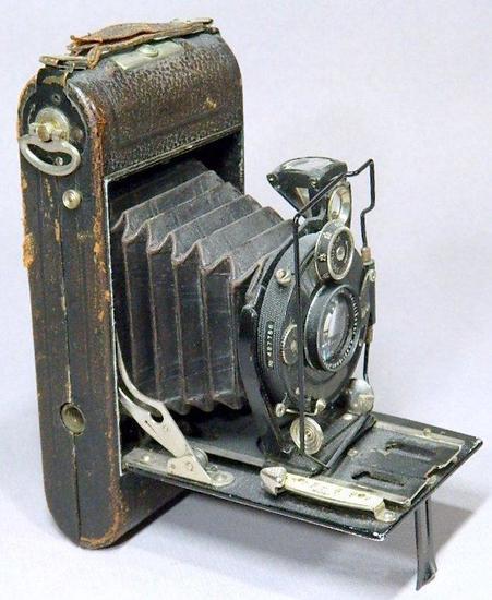 Superb Voigtlander Compur Antique Camera