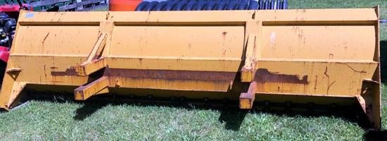 Pro-Tech Sno Pusher Plow, Model IS12B