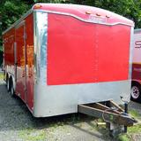 2006 Haulmark 18' x 8.5' Enclosed Cargo Trailer