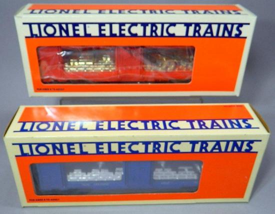 Lionel Electric Trains Mint Cars