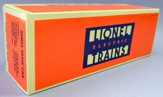 Lionel Electric Trains Shell Tank Car