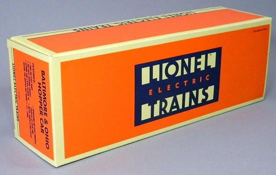 Lionel Electric Trains B&O Hopper Car