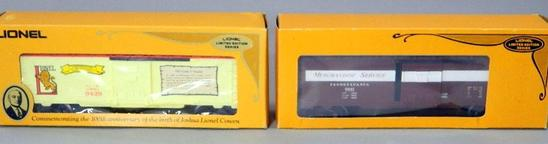 Lionel Limited Edition Box Cars, NIB