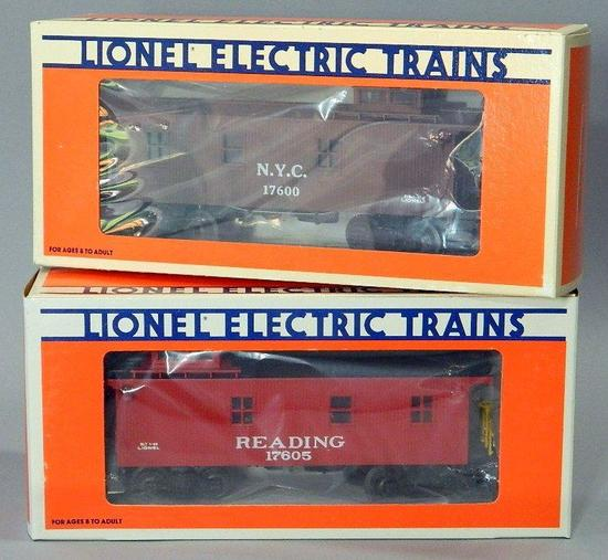 Lionel Electric Trains - Cabooses