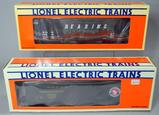 Lionel Electric Trains Reefer and Hopper