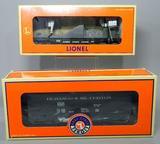 (2) Lionel Electric Trains Cars