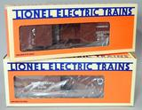 Lionel Electric Trains Pennsylvania Single- and Double-door Box Cars