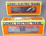 Lionel Electric Trains Waffle-Sided and Operating Boxcars