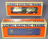 Lionel Electric Trains Mint Car and Ice Car