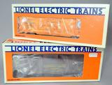 Lionel Electric Trains Ice Car and Caboose with Smoke