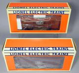 Lionel Electric Trains Rock Island and NYC Woodside Cabooses