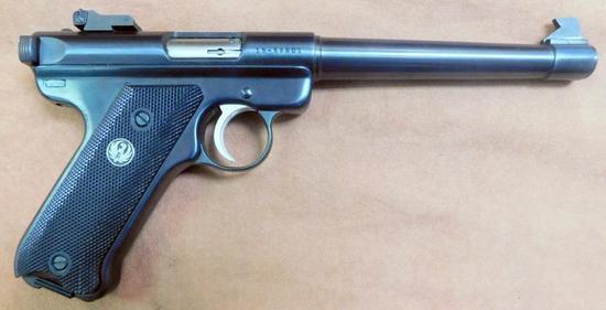 Ruger MK II Target .22LR Semi-auto Pistol