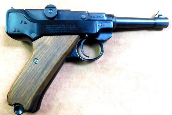 Stoeger Luger 22 Semi-auto Pistol with Box