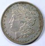 1897 Morgan Silver Dollar Coin