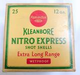Remington Kleanbore Nitro Express 12 Gauge 2 ... inch Shot Shells Box
