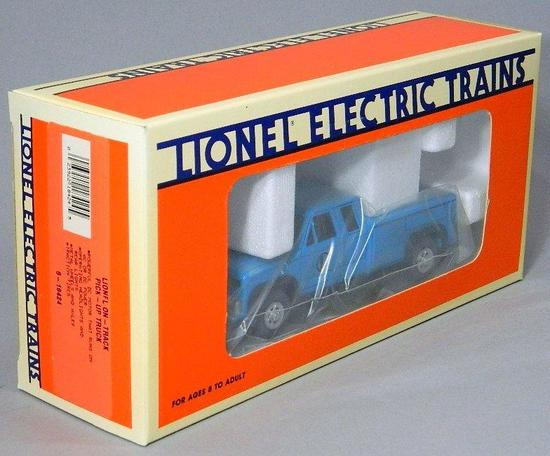 Lionel Electric Trains On-Track Pick-up Truck