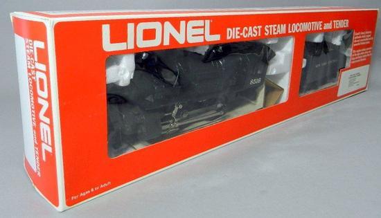 Lionel New York Central Die-Cast Steam Locomotive and Tender