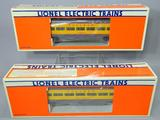 Lionel Electric Trains Union Pacific Smooth Side Illuminated Passenger Cars, Sequential
