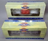 Lionel Postwar Celebration Series Flat Cars with Transformer and with Pipes