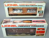 Lionel O and O27 Gauge Philadelphia Mint Car and Reading Operating Hopper