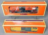 Lionel Maine Central Box Car and Gulf Oil Corp. Single-Dome Tank Car