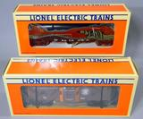 Lionel Flatcar with Royal Navy Submarine and TTOS 30th Anniversary Bay Window Caboose