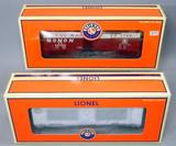 Lionel Bureau of Engraving and Printing Mint Car and Monon Box Car