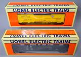 Lionel Western Maryland Hopper and Erie Reefer