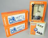 Grouping of Four (4) Lionel Accessories