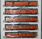 MTH Electric Trains, 70' Scale Streamlined Passenger Car Set
