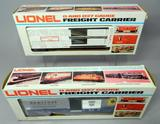 Lionel Circus Stock Car and B&O Sentinel Box Car