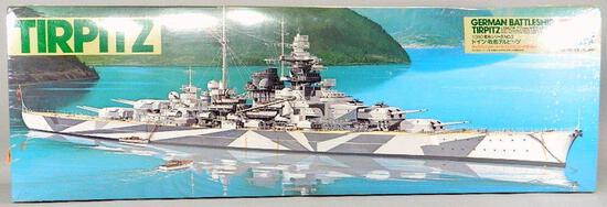 Tamiya Battleship Model Kit: German Battleship Tirpitz