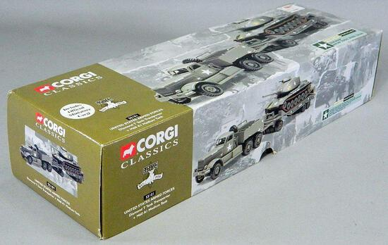 Corgi Classics USAF Diamond T Tank Transporter and M60 AI Medium Tank