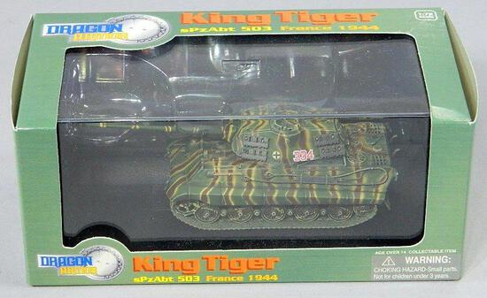 Dragon Model Tank: King Tiger 503 France 1944