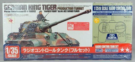 Tamiya German King Tiger Production Turret Radio Control Tank Set