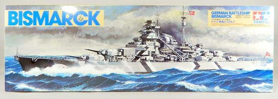 Tamiya Model Kit: German Battleship Bismarck
