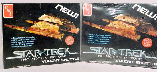 AMT Star Trek Vulcan Shuttle Model Kit and Box