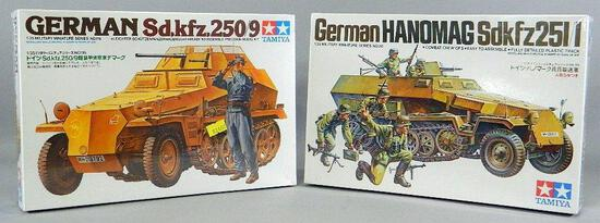 Tamiya German Military Vehicle Model Kits